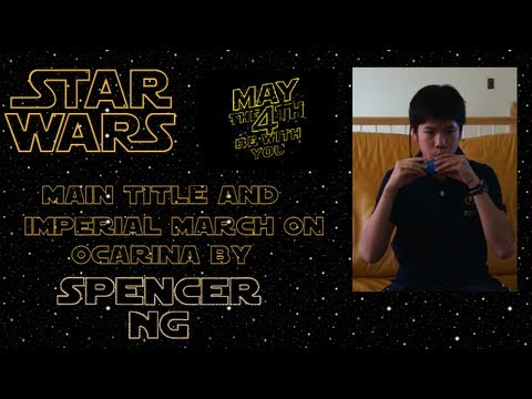 Star Wars Songs on 6 Hole Ocarina [Main Title and Imperial March]