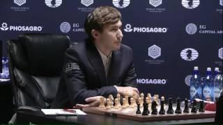 Карлсен - Карякин, 11 партия. (Шипов Сергей)