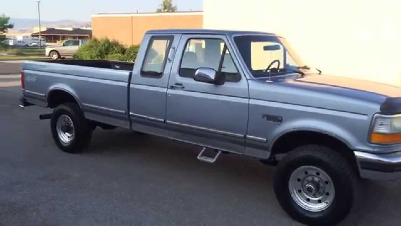 Com 1996 ford f250 supercab 4x4 123k 7 3 powerstroke turbo diesel for sale youtube
