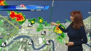 Monday Night: Tropical Storm Don forms