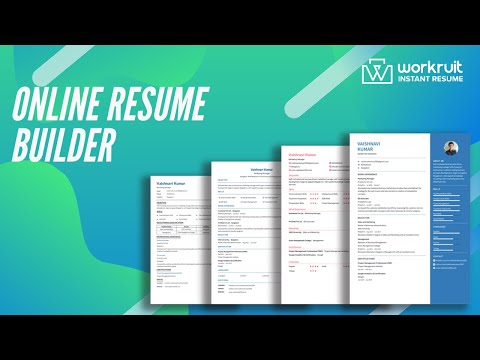 Resume Builder Online Cv Maker Download Pdf Free Apps On Google Play