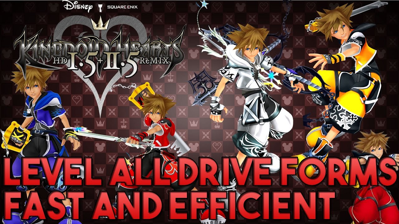 Level up all drive forms FAST, EFFICIENT and as EARLY AS POSSIBLE ...
