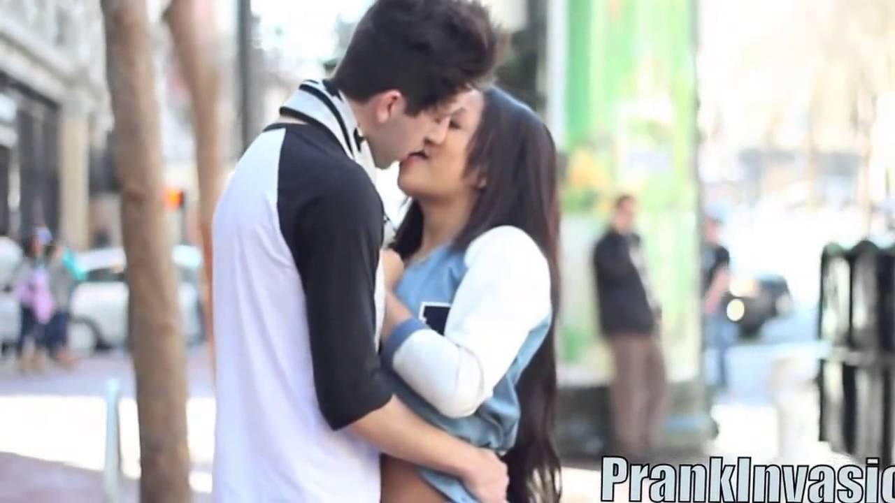 Prank Invasion S Kissing Prank S Valentines Day Special Youtube
