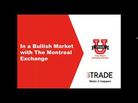 In a Bullish Market with The Montreal Exchange (April 2017)