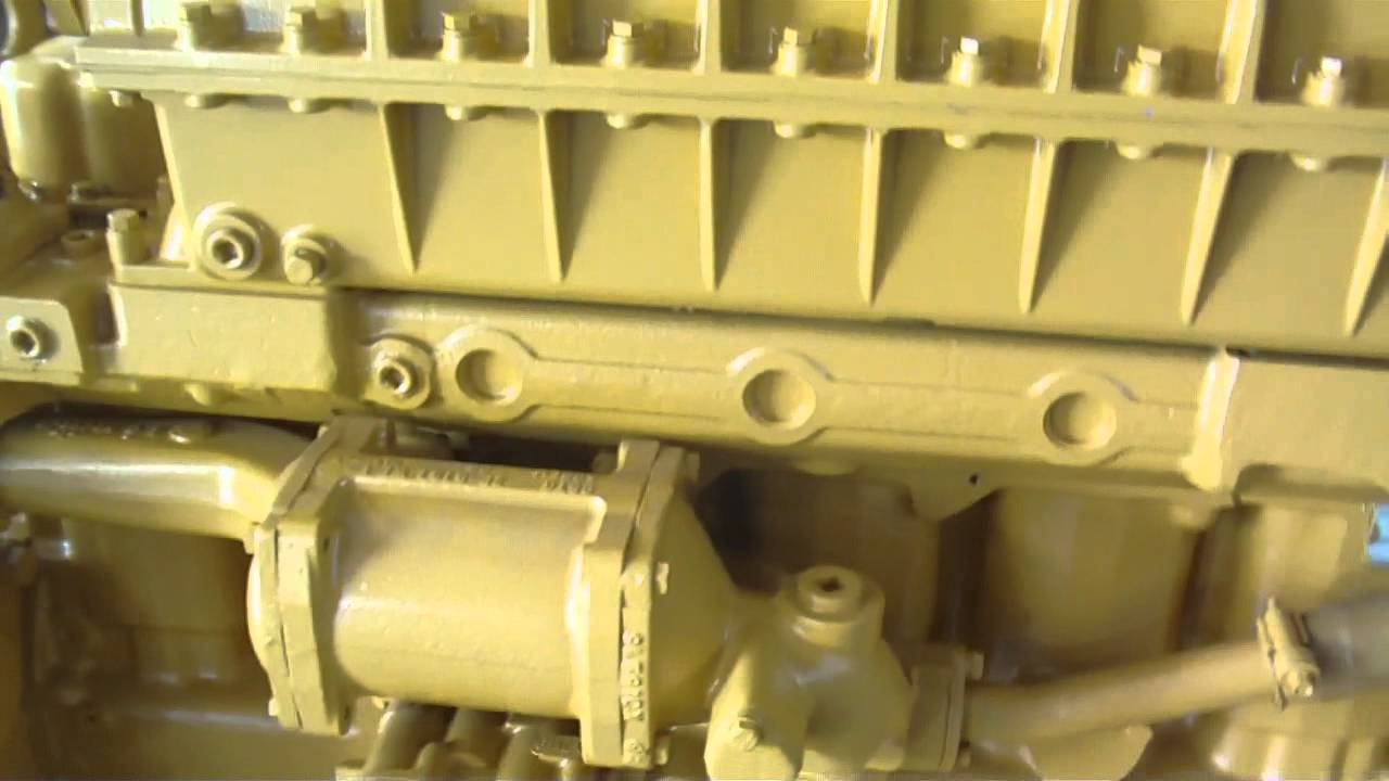 Caterpillar 3306 Reman Engine - YouTube