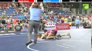 106 Angelo Reyes vs. Nick Kunz