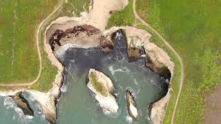 Drone video of Northern California