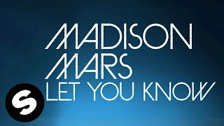 Madison Mars - Let You Know (Official Lyric Video)