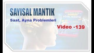 MATEMATİK Sayısal Mantık / VİDEO- 139   Saat, Ayna Problemleri