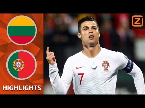 RONALDO HEER en MEESTER 🎩💥 | Samenvatting Litouwen vs Portugal | Kwalificatie EK 2020