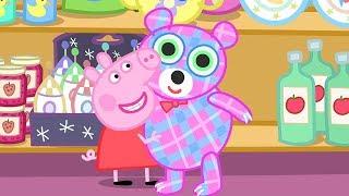 Свинка Пеппа на русском все серии подряд   Магазин мистера Лиса | Мультики