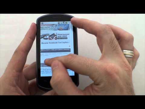 Huawei ideos x5 U8800 video inceleme | Dh