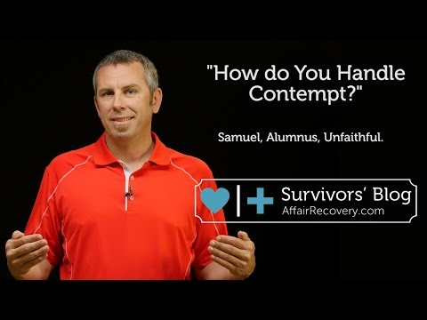 How Do You Handle Contempt?