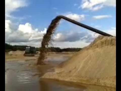 Sand and Gravel Mine - Latvia