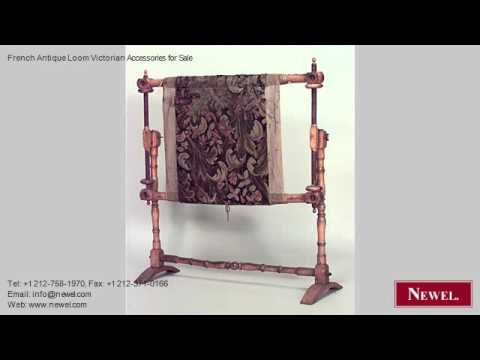 French Antique Loom Victorian Accessories for Sale