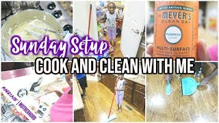 👀 MUST SEE MOTIVATION // COOK AND CLEAN WITH ME 🏠 Sunday Setup