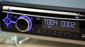 Clarion CZ102 CD Receiver Display and Controls Demo