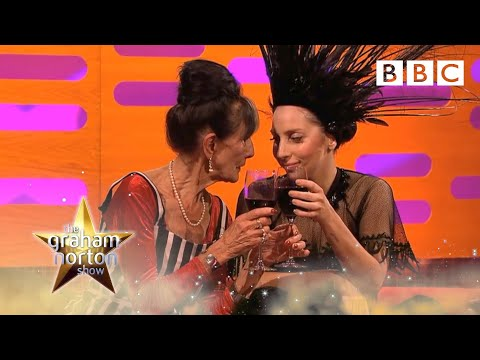 Lady Gaga meets June Brown  The Graham Norton : Episode 5 P  BBC One