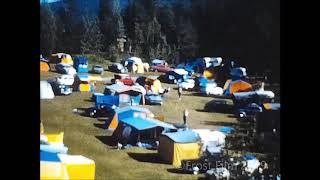 Super 8 Camping og bilferie på ukjent sted 60 eller 70 tallet