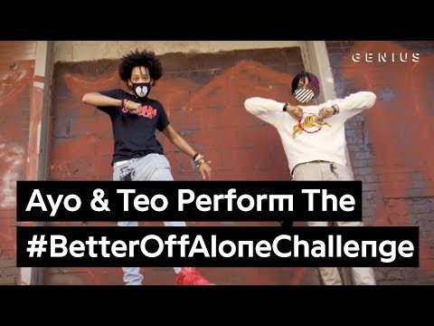 "Ayo & Teo ""Better Off Alone"" Dance Challenge"