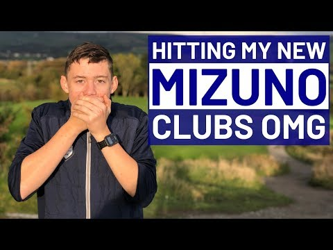 MY NEW GOLF CLUBS WERE HAND MADE BY MIZUNO  !