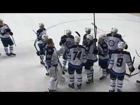 NHL Preseason | Nikolaj Ehlers 5-4 OT Goal vs Calgary Flames | September 24, 2018