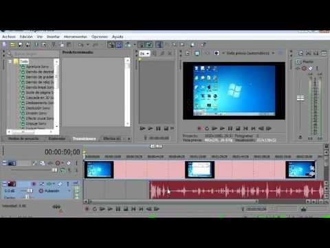 Descargar Video como quitar el audio a un video con sony vegas pro 11