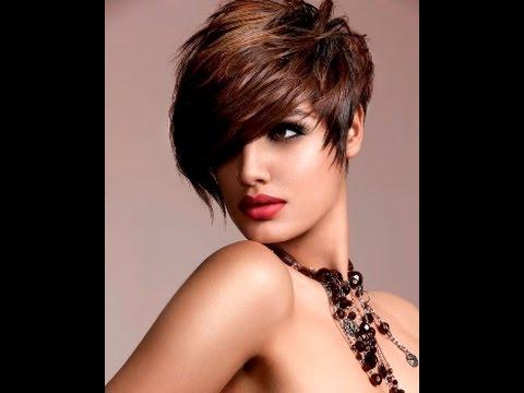 Модные женские стрижки 2015.Trendy haircuts for women 2015