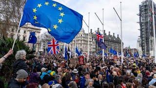 Weitere Riesen-Demonstration in London gegen Brexit