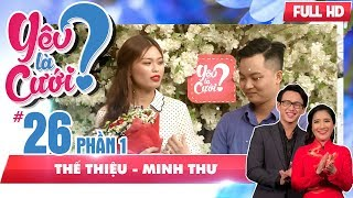 The proposal of the man by the text message  The Thieu - Minh Thu   YLC #26 💘