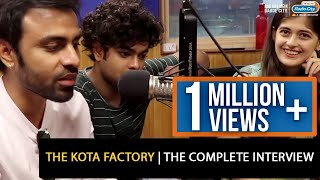 TVF The Kota Factory | The Complete Interview
