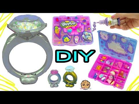 DIY Giant Diamond Ring + Season 7 Shopkins Box - Dollar Tree Do It Yourself Craft Video