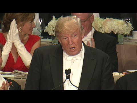 Highlights: Trump at Al Smith charity dinner