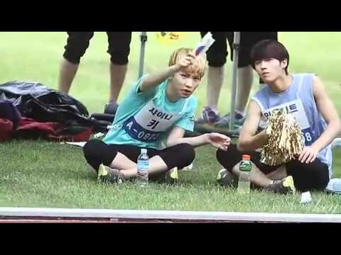 110827 WooKey(Woohyun+Key) Part1@Idol Sports Day