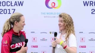 Team Canada Assistant Coach Tasia Balding - The World Games 2017