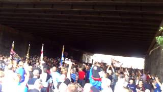 Glasgow Boyne Celebrations, 2014 Under the Bridge.