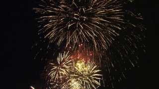 Ranst 40 jaar scouts \ Kerstboomverbranding - vuurwerk - pyromusical - 11-1-2014