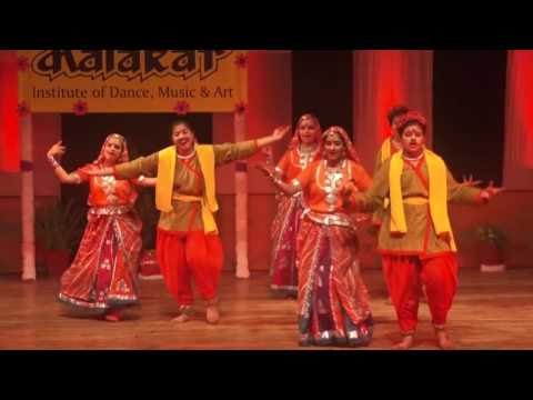 Rajasthani Dance Luk Chhup - by students...