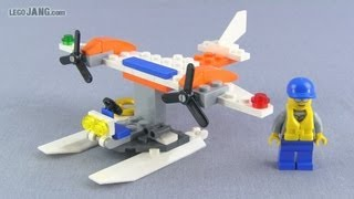 Lego City Coast Guard Seaplane 30225 Polybag Set Review!