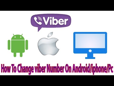 Deactivating! How To Change viber Number On Android/iphone/Pc/Laptop