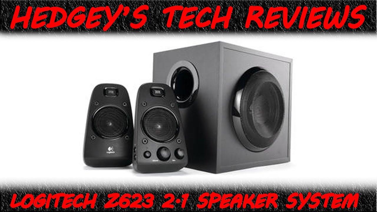 Logitech Z623 Unboxing  U0026 Review