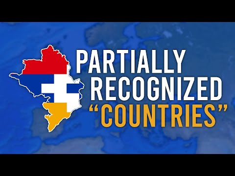 """Unrecognized """"countries"""" in Europe"""
