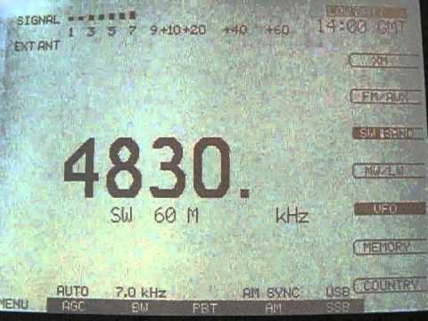 Mongolian Radio, 4830 kHz
