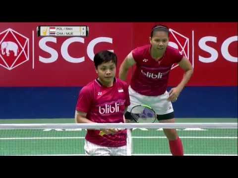 SCG Thailand Open 2017 | Badminton F M1-WD | Pol/Rah vs Cha/Mue