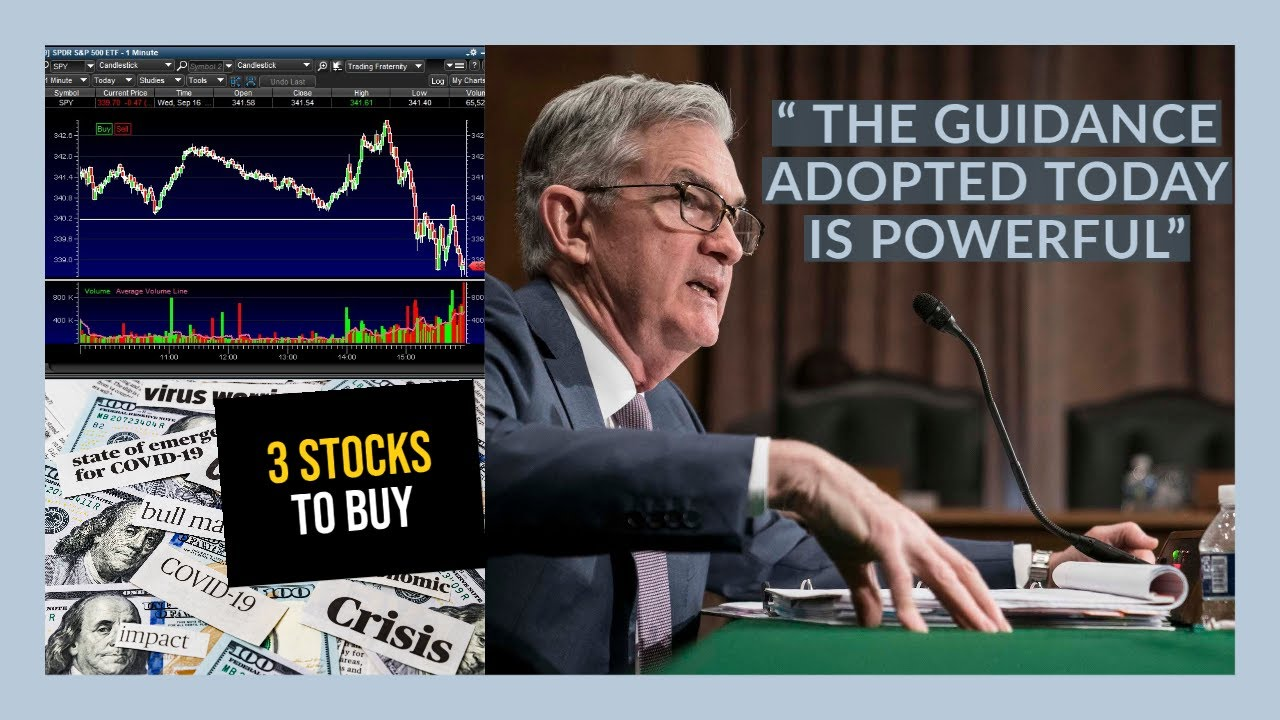 THE STOCK MARKET DIDN'T LIKE POWELL!! - My Watchlist - 3 STOCKS TO BUY NOW! SNOW IPO!!