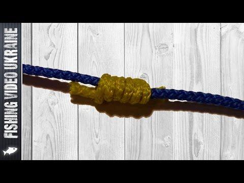 рыболовные узлы стопорный узел на леске