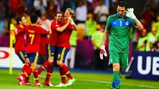 Испания Италия 4 0 ЕВРО 2012 финал чемпионата Европы European Football Championship Final