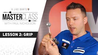 A Live Darts Masterclass | Lesson 2 - How to grip your darts