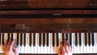 Как подбирать приём к песне на пианино Из курса