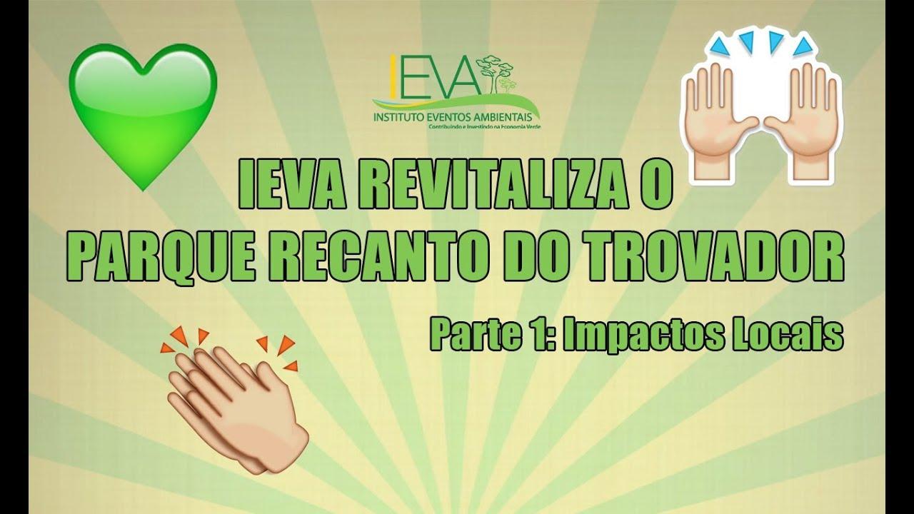 Revitalização do Parque Recanto do Trovador - Impactos na comunidade